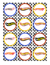 hot wheels cake toppers hot wheels birthday party pack free printables party time