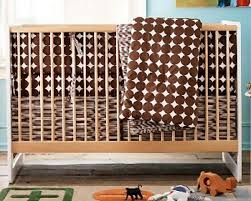 dwell studio crib bedding kool roomz chocolate dots crib bedding accessories from dwellbaby