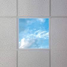 Decorative Ceiling Light Panels Led Skylight W Summer Skylens 2x2 Dimmable Led Panel Light