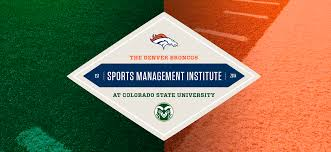 denver broncos sports management institute colorado state university