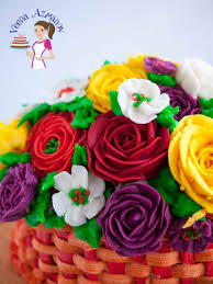 Best Flower Food The Best Stiff Buttercream Recipe For Piping Flowers Crusting