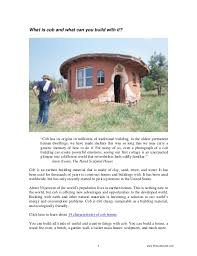 how to start to build a house how to start building with cob