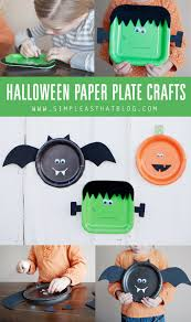 halloween paper plate crafts paper plate crafts craft and