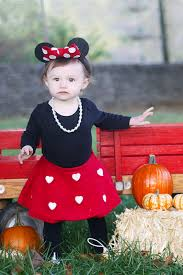 our little minnie mouse diy toddler halloween costume simply pett