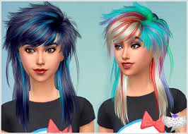 sims 4 blue hair can someone convert this conversion hair to male please the sims