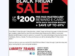 do airlines have black friday sales liberty travel black friday sale morris township morris