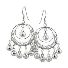 silver chandelier earrings zspmed of silver chandelier earrings
