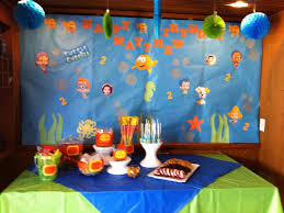 birthday decoration ideas for kids at home rainbow party food
