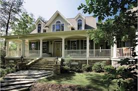 country home with wrap around porch hill country home plan with wrap around porches tedx decors