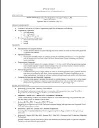 resume format for computer science engineering students share