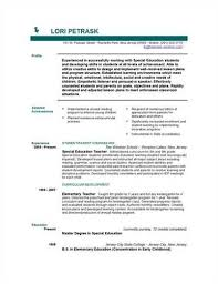 Resume Objective For Preschool Teacher A Href U003d
