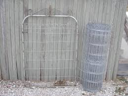 3 ornamental wire fencing loop top garden and lawn fence to