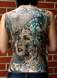 awesome back tattoo by rember orellana https www facebook com