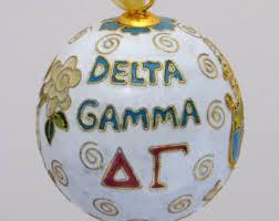 delta gamma ornament etsy