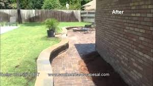 Paver Patio With Retaining Wall by Southern Hardscapes Curved Retaining Wall Paver Patio And Fire Pit