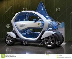 renault twizy blue renault twizy concept car editorial image image 13424995