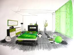 dessiner une chambre en perspective chambre coucher moderne of chambre moderne areyaa com
