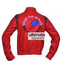 red and black motorcycle jacket akira kaneda capsule red biker leather jacket costume