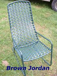 Restrapping Patio Chairs Furniture Repair Of Vinyl Lacing