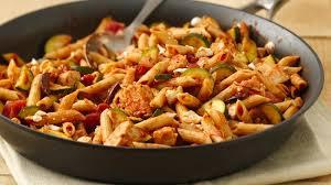 pasta recipes skinny mediterranean style chicken and pasta recipe bettycrocker com