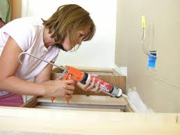 How To Install Vanity Cabinet How To Install A Bathroom Countertop How Tos Diy