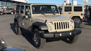 gobi jeep new 2018 jeep wrangler jk unlimited rubicon 4x4 suv gobi for sale