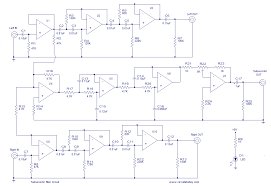 subwoofer filter electronic circuits and diagram electronics