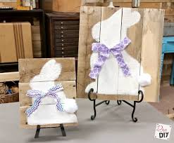 Easter Bunny Decorations Diy by Easter Decorations How To Make Bunny Art Diva Of Diy