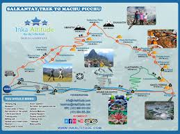 Machu Picchu Map Salkantay Trek To Machu Picchu Salkantay Trek 5 Days Salkantay