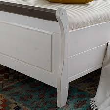Schlafzimmer Banktruhe Schlafzimmer Einrichtung Benfitas In Weiß Grau Pharao24 De