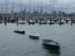 free stock photo of small boats at st kilda marina in melbourne
