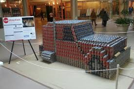 100 canstruction ideas casady community service learning