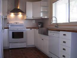 Kitchen Cabinet Cheap Attractive Photo Magnificent Kitchen Cabinets White And Brown