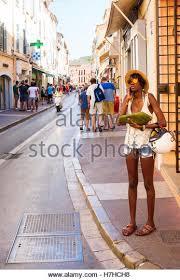 St Tropez Awning Street Scene Saint Tropez France Stock Photos U0026 Street Scene Saint