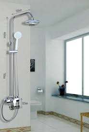 Bathtub Faucet Shower Attachment Double Water Flow 8