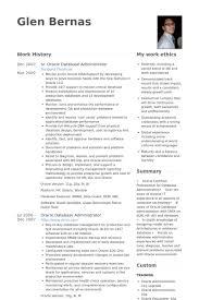 Mysql Dba Resume Sample by Database Administrator Resume Samples Visualcv Resume Samples