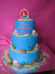 Little Mermaid Ariel Birthday Cake Cakecentral Com