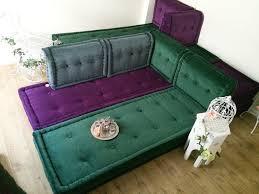 luxurious moroccan sofa mah jong style shabby chic floor cushion