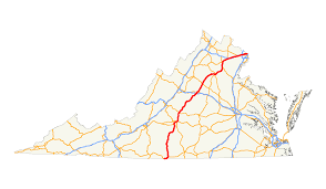 Detailed Map Of Virginia by U S Route 29 In Virginia Wikipedia