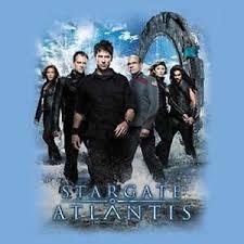 stargate atlantis tv series 5th season cast t shirt size small