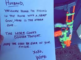 Wife Husband Meme - the dear husband nerf gun meme is everywhere business insider