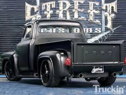 Old Ford Truck Kit Car - 1955 ford f100 20 inch rims truckin u0027 magazine