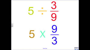 dividing a whole number by a fraction how to divide a whole number by a fraction song