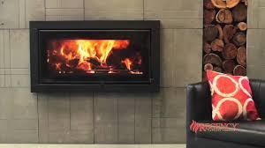 regency montrose large wood fireplace youtube