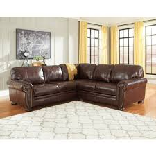Ashley Furniture End Tables Ashley Furniture Banner Sectional In Coffee Local Furniture Outlet