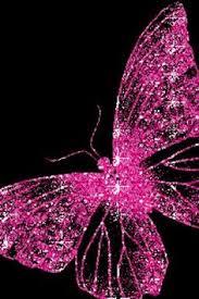 glitter wallpaper with butterflies black and pink butterfly girlianda fonui pinterest butterfly
