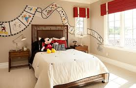 mickey mouse clubhouse bedroom custom painted disney film strip on the bedroom walls to