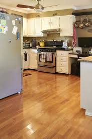 seattle oak flooring kitchen traditional with wood island