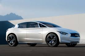 infinity car blue infiniti to add three new front wheel drive models to its line up