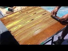 faux oak wood grain creative painting techniques paint